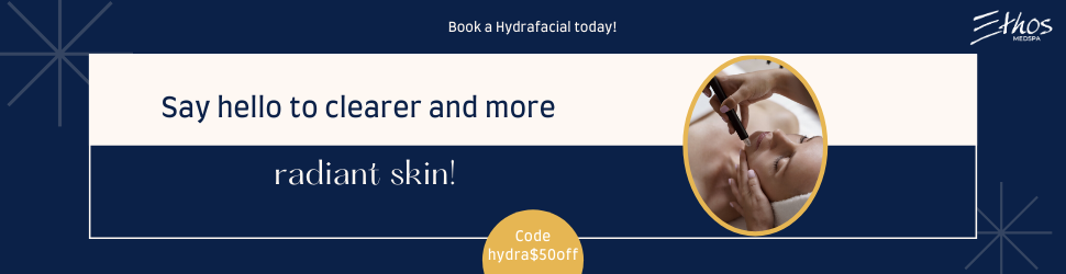Hydrafacial coupon for $50 off code- hydra$50off
