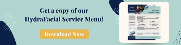 Click here to download the hydrafacial service menu.