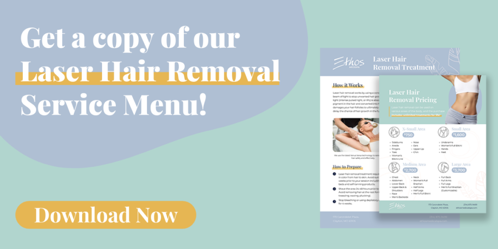 Click here to download the Laser Hair Removal Service Menu